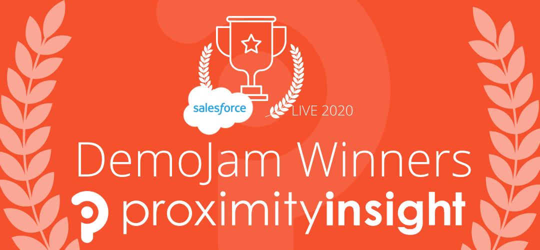 Salesforce DemoJam Winners Proximity Insight